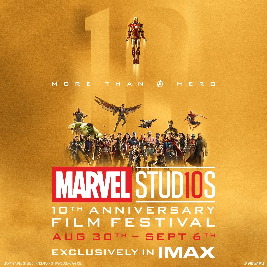 Marvel Studios 10th Anniversary Film Festival